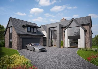 New Build Modern, Contemporary House – Colwyn Bay