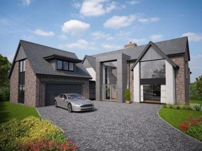 Charming New Build Modern / Contemporary House   Colwyn Bay