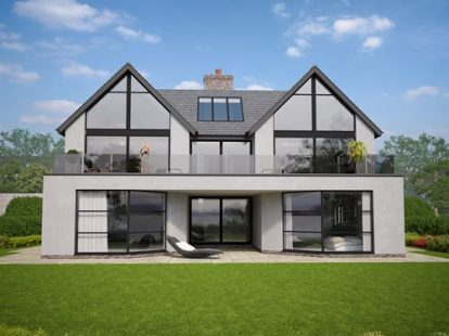 New Build Modern / Contemporary House   Colwyn Bay