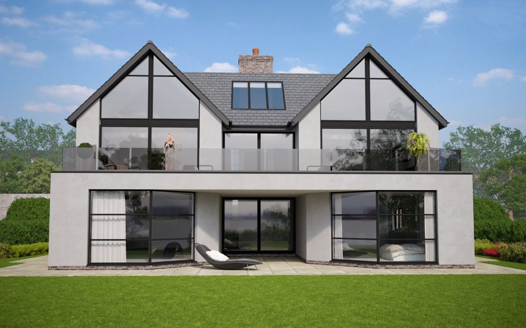 PLANNING APPROVED FOR THESE 2 MODERN / CONTEMPORARY HOUSES