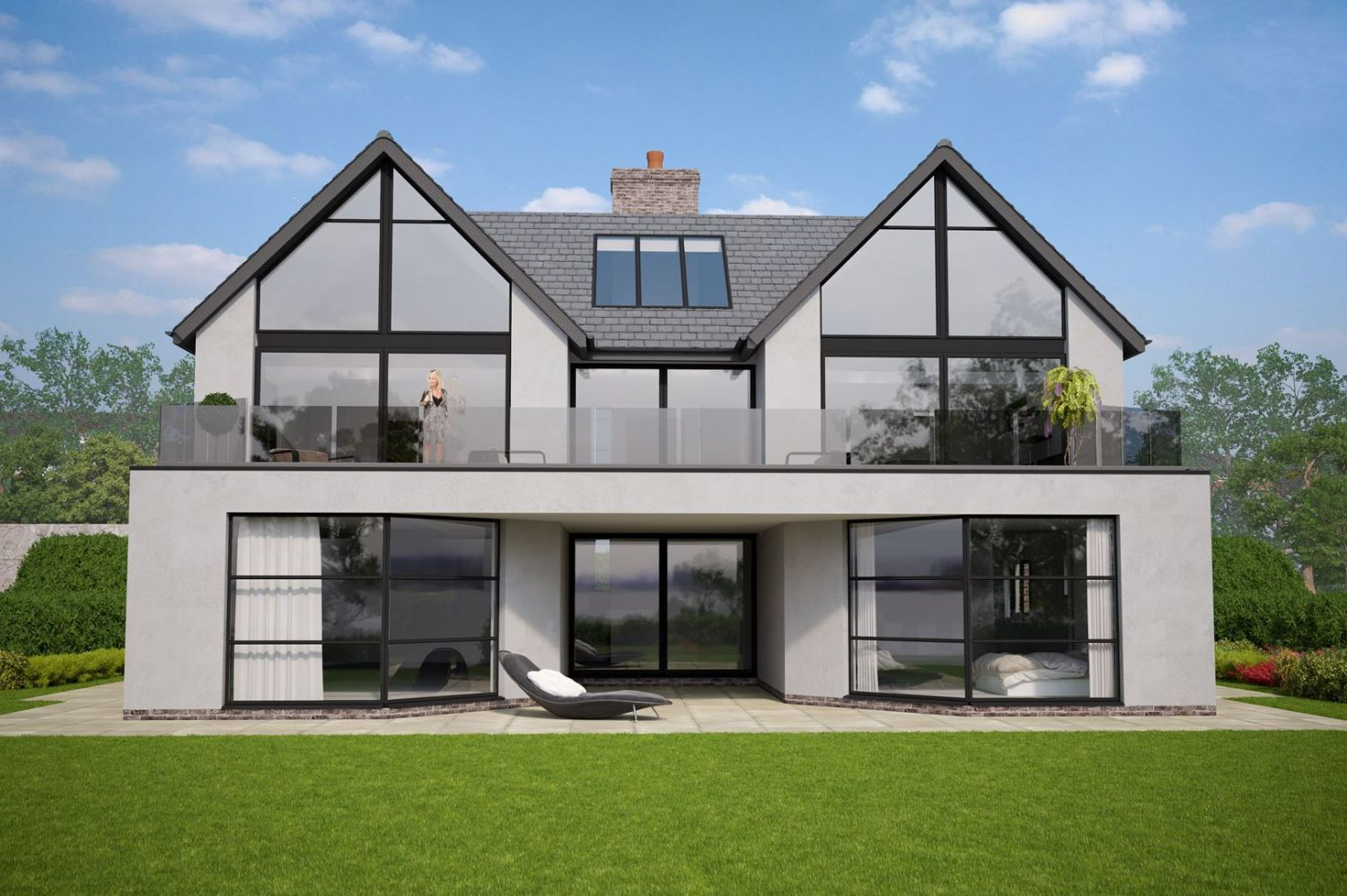 New Build Modern / Contemporary House - Colwyn Bay