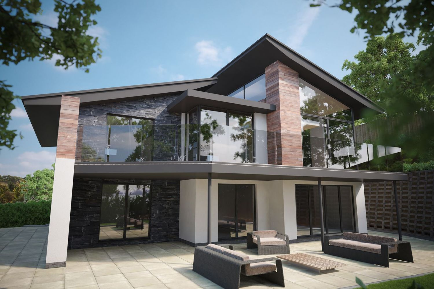 New builds llandudno conwy luxury house designer cheshire Contemporary home builder