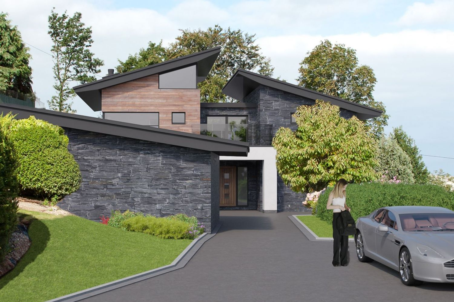 Tree Tops 2 - Modern / Contemporary New Build House