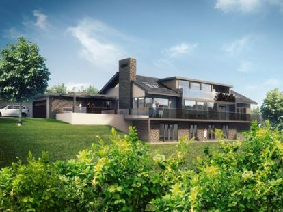 New Build Contemporary House - North Wales
