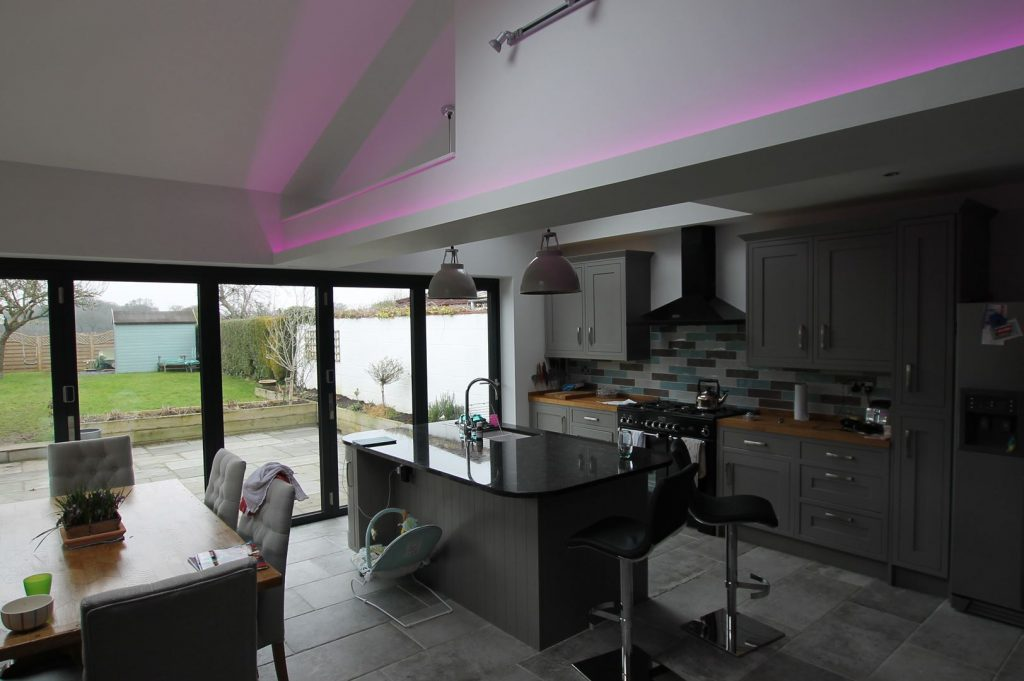 Modern Kitchen / Dining Extension - (Chester)