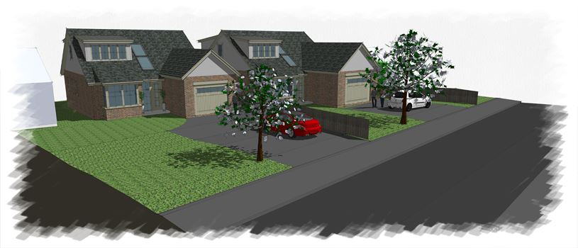BR ARCHITECTURE DESIGNS 2 X NEW HOUSES FOR HARVEY HOMES