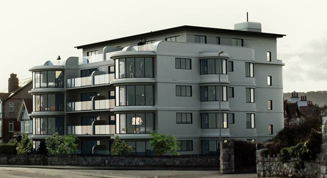 ART DECO STYLE – NEW BUILD APARTMENTS – RHOS ON SEA