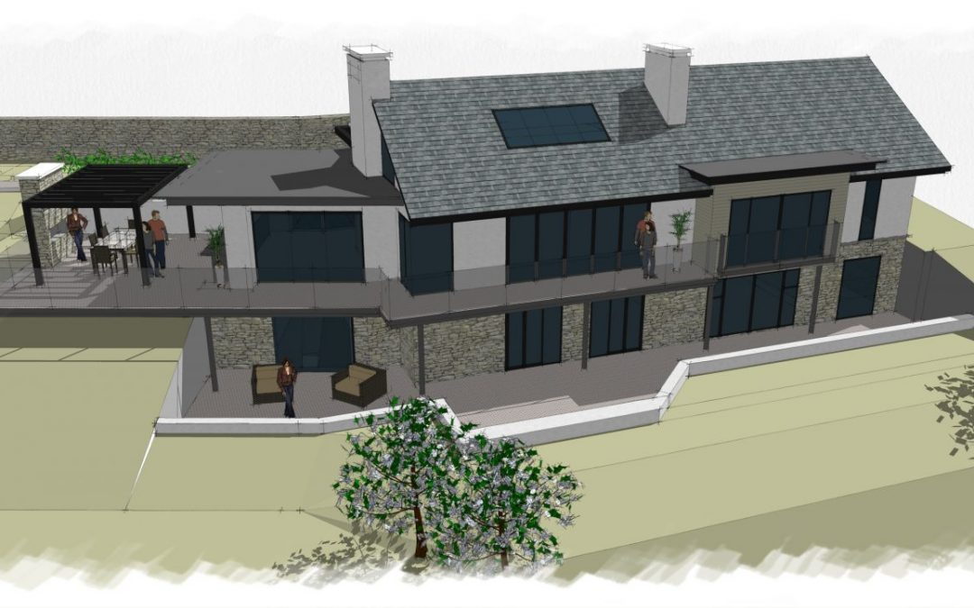 Planning Approval Secured for Luxury New Build House with Amazing Views – Conwy, North Wales