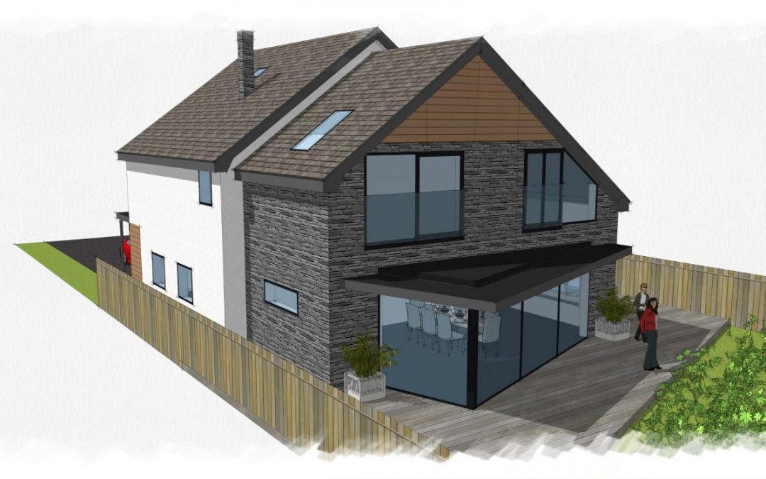 1960'S Alpine Style House Transformation in Chester, Cheshire