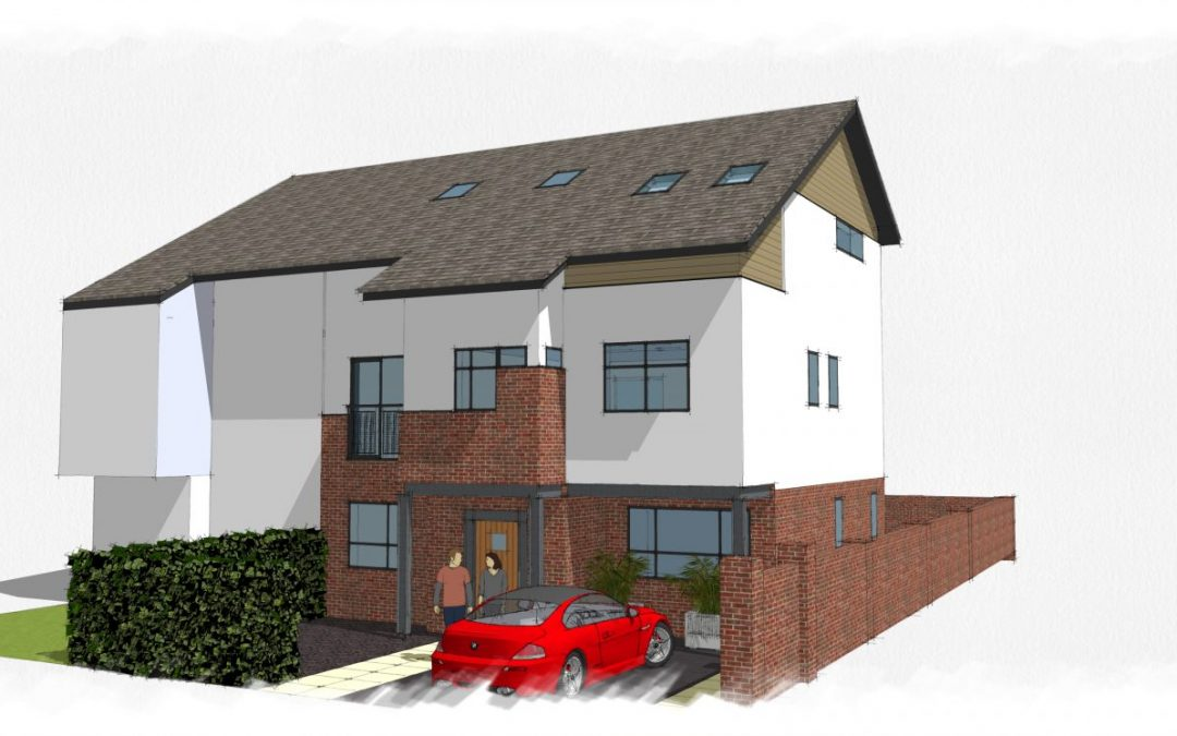 BR Architecture Designs and Secures Planning Approval for 3 x Storey Extension in Manchester