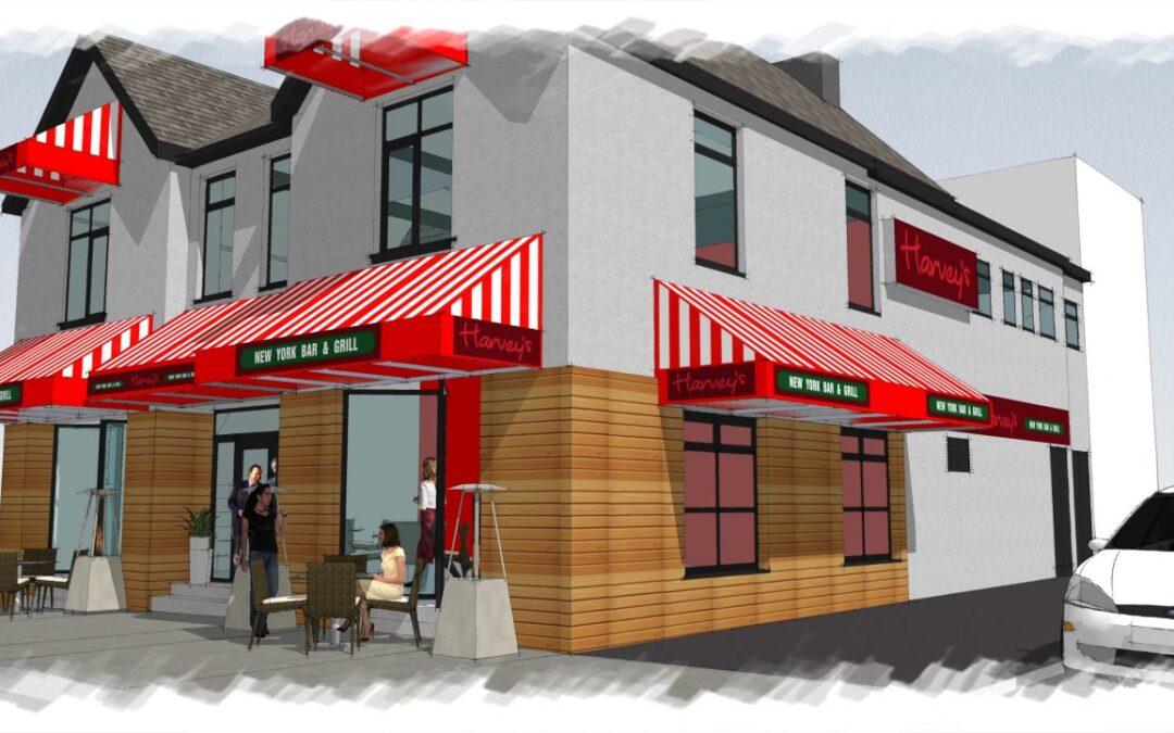 BR Architecture Designs Latest Restaurant Conversion for Harveys in Pwllhelli