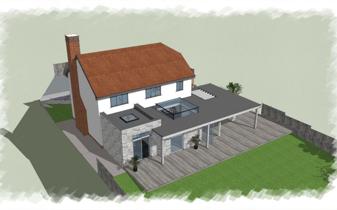 Planning Application submitted for Modern / Contemporary Extension