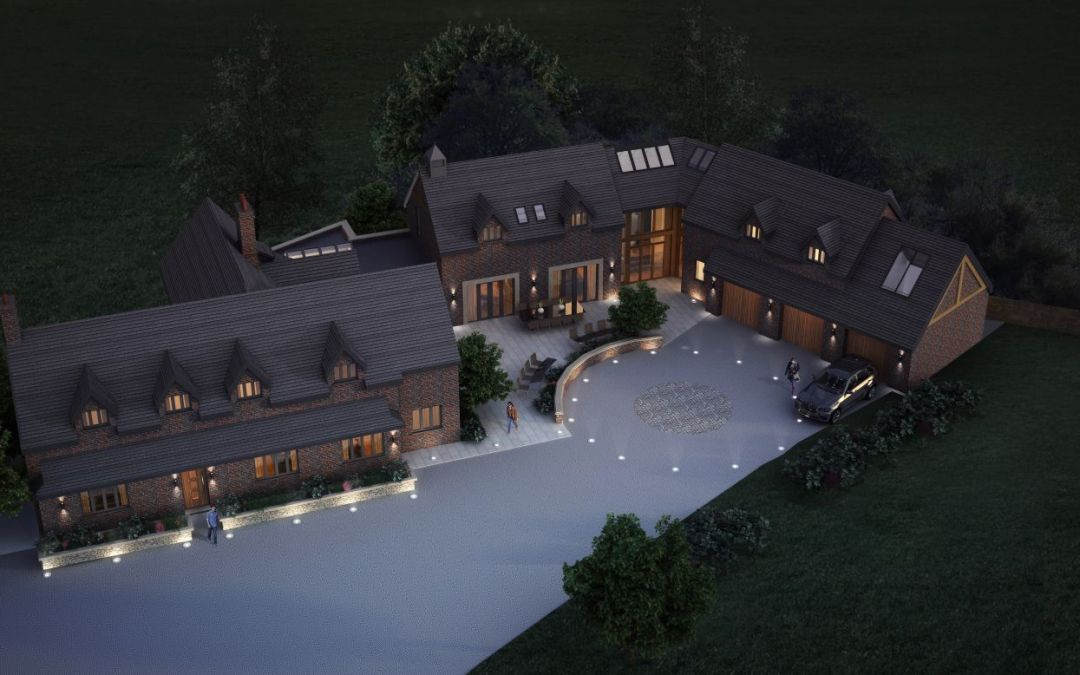 Proposed Luxury Extension and Major Refurb Scheme Submitted to Planning in Cheshire
